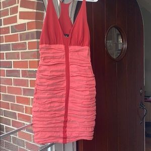 NWT Nicole Miller Ruched Dress 🌶